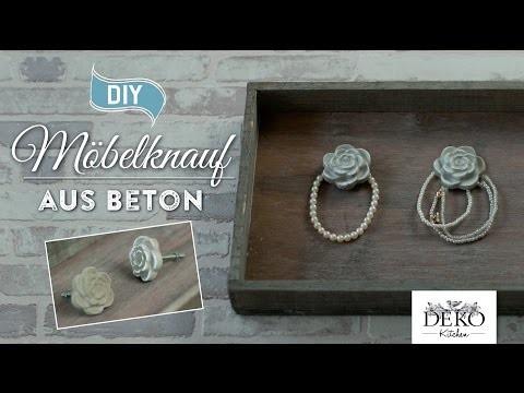 DIY: So könnt Ihr einen Möbelknauf aus Beton selber machen | Deko Kitchen