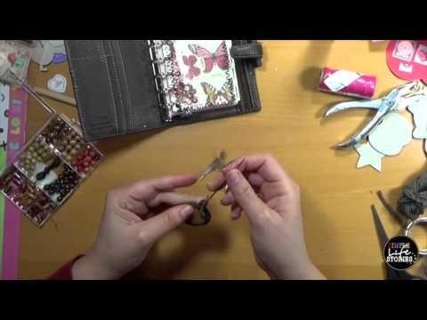 DIY: Traumfänger (Charm) für den Filofax selbermachen