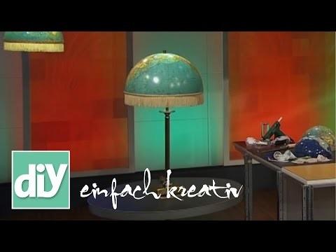 Globuslampe | DIY einfach kreativ