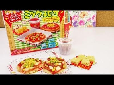 Kracie Popin' cookin' Pizza Mix Demo | Japanische Süßigkeiten Pizza selber machen DIY