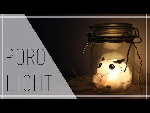 LoL PORO LICHT - Für unter 5 Euro! [DIY GESCHENK für GAMER?]