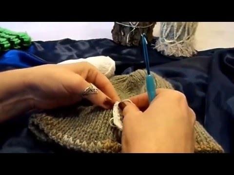 DIY:keka HÄKELN  lernen ÖSE ,Verschluß,Halterung anhäkeln;Tipps ,. .mach es selbst ;-)