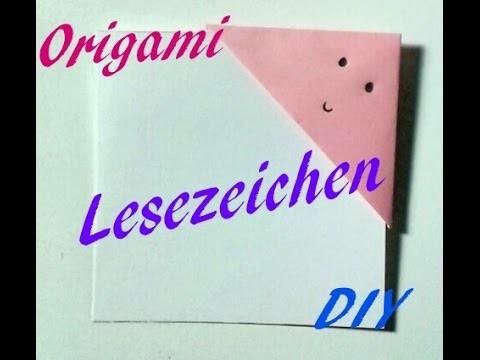 DIY- Lesezeichen selber machen | Origami  |  Do It Yourself