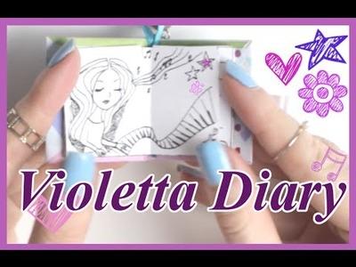 DIY | Miniature Violetta Tagebuch | Schlüsselanhänger || Foxy Draws