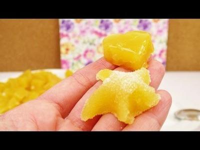 Süßigkeiten selber machen | fruchtige Jelly Orangen Snacks mit Saft & Gelatine | DIY