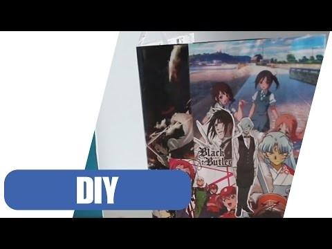DIY: Con-Hon | Notizheft im Anime Style selber machen