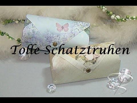 DIY: Tolle Schatztruhen mit dem Envelope Board von Joy!Crafts