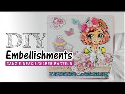 [DIY.Tutorial] ✿ Luna Like ✿ Embellishments selber basteln ^.^