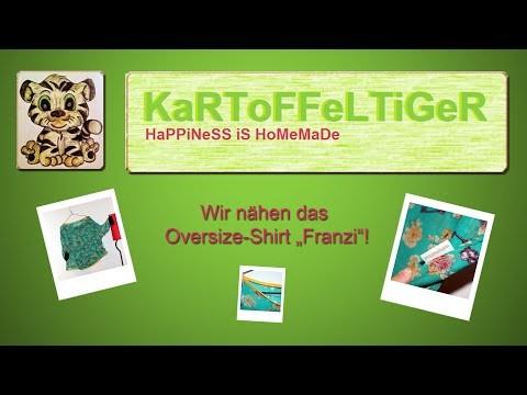 """DIY - Wir nähen das Oversize-Shirt """"Franzi"""""""
