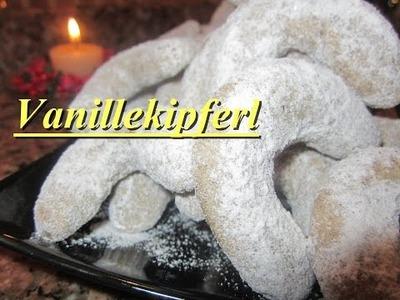 Vanillekipferl Rezept | Plätzchen für Weihnachten | auch Vegan machbar | DIY Vanillekipferl :)