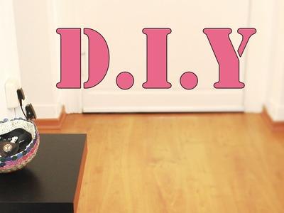 Deko D.I.Y  eine Schüssel aus Knöpfen *Knöpfe! Kleber! Luftballon!*