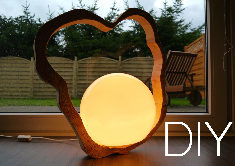 DIY Designer Lampe selbst gemacht Anleitung