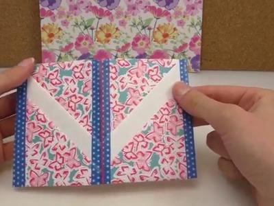 DIY Filofax Idee für Karten Visitenkarten, Kreditkarten etc. im Filofax aufbewahren | Ringbuch