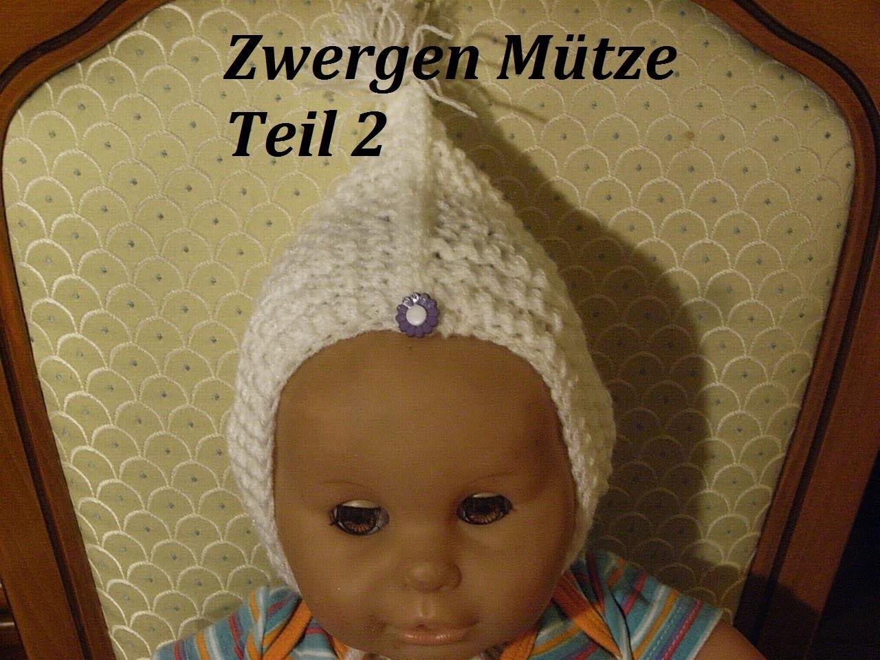 DIY Kindermütze stricken*Teil 2**Baby Mütze*einfach Stricken*Zwergen Mütze Tutorial Handarbeit
