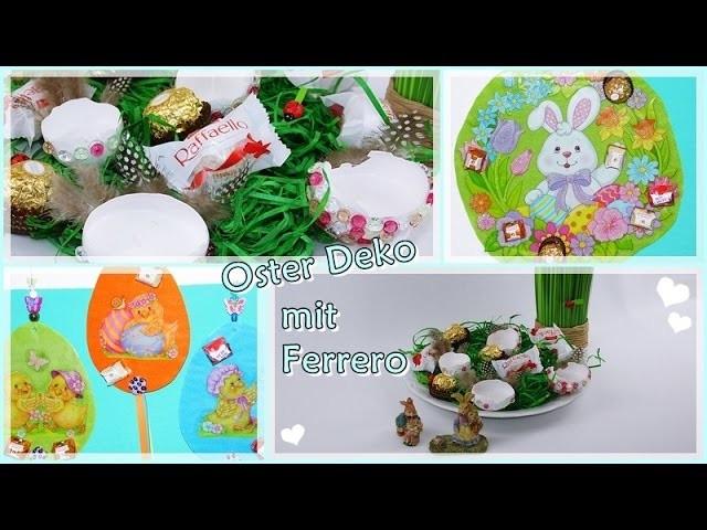 DIY.Ostern.Osterdeko Frühling Selber Basteln.aufhänger.Eier Kerze.Ferrero.Lisa Freundeskreis.Teil 2