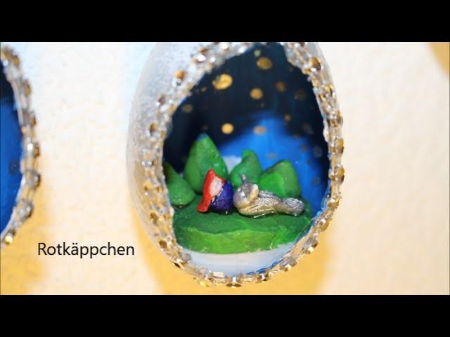 DIY: * Oster Special * Ostereier mit Keramik Figur l Basteln zu Ostern # 11