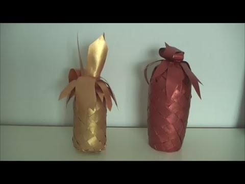 Kupfer Deko Trend 2015 Ananas DIY Teil 2