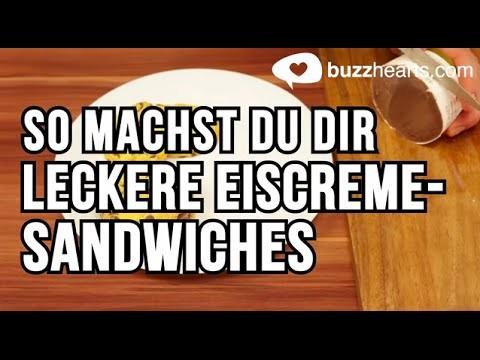 Mache ein leckeres Eiscreme-Sandwich! - DIY