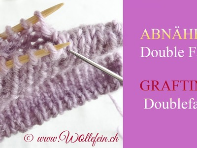 Abnähen Double Face - Grafting Doubleface knitting