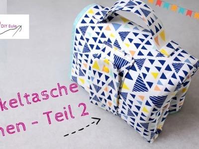 DIY Eule: Wickeltasche. Windeltasche selber nähen - Teil 2