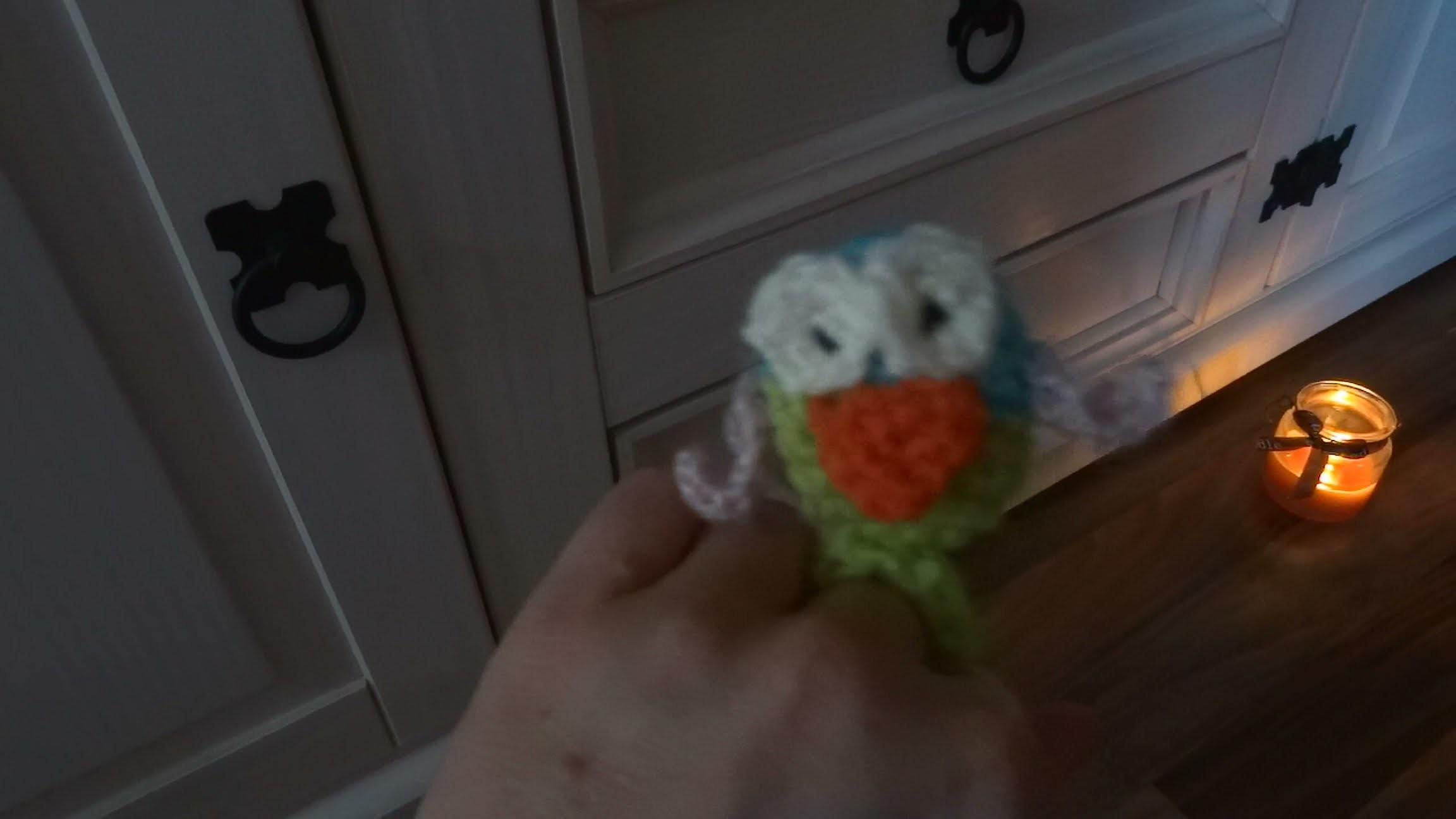 DIY Fingerpuppe Eule - Babyspielzeug selber häkeln Teil 1 - Amigurumi