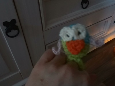 DIY Fingerpuppe Eule - Babyspielzeug selber häkeln Teil 2 - Amigurumi