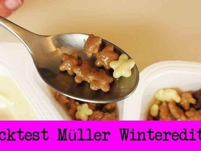 """DIY Inspiration Snack Test: Müller """"Joghurt mit der Ecke"""" Rudis Weihnacht & Schoko Caramel Cookie"""