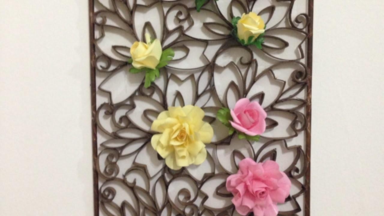 Eine Hübsche Wanddekoration Aus Papier Basteln - DIY Home - Guidecentral