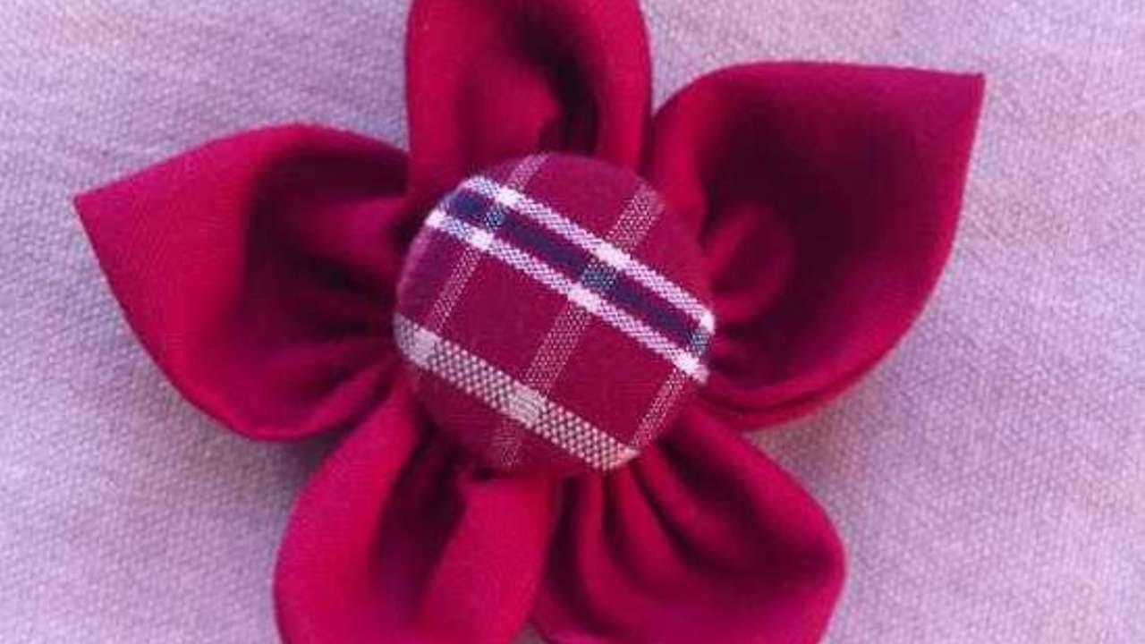 Eine Süße Stoffblumen-Anstecknadel Machen - DIY Style - Guidecentral