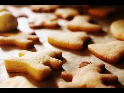 Weihnachtsplätzchen - Plätzchen mit Marzipan - DIY Weihnachtskekse