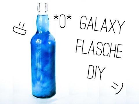 DIY Galaxy Flasche
