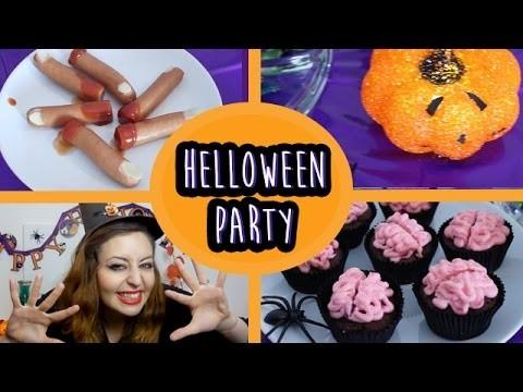 DIY Halloween Party: Snacks und Deko