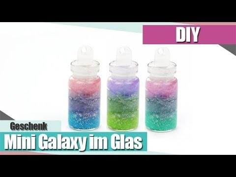 [DIY] Mini Galaxy in der Flasche - DIY Galaxy Bottle | Anielas Fimo