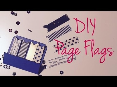 Filo-Friday #11 ---DIY Page Flags ^^