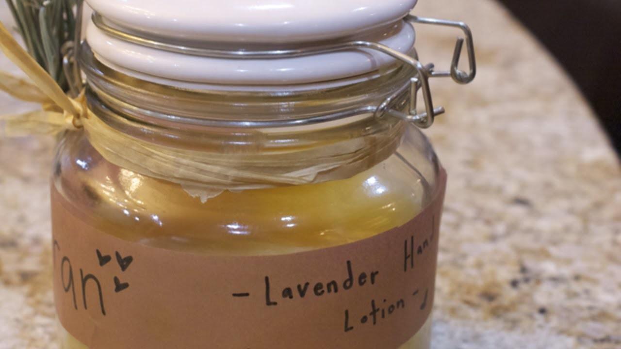 Eine Lavendel-Handcreme Selbst Herstellen - DIY Beauty - Guidecentral