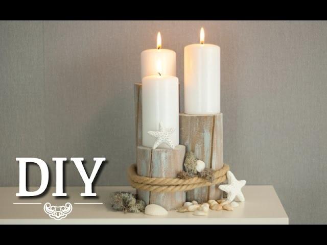 DIY: Centerpiece für maritime Tischdeko oder Hochzeitsdeko | Deko Kitchen