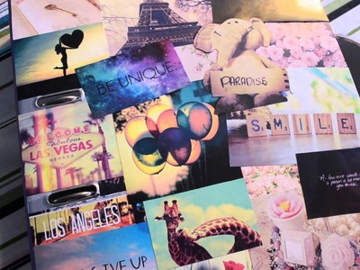 DIY TUMBLR inspirierte MAPPE♡BACK TO SCHOOLl#2 IIStrawberryCheesecake