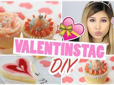 DIY VALENTINSTAGS GESCHENK IDEE | Cupcakes mit ROSEN Frosting | Kisu