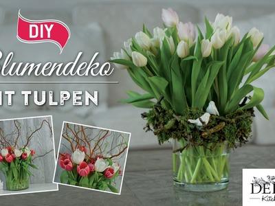 How to: hübsche Frühlings-Blumendeko mit Tulpen | Deko Kitchen