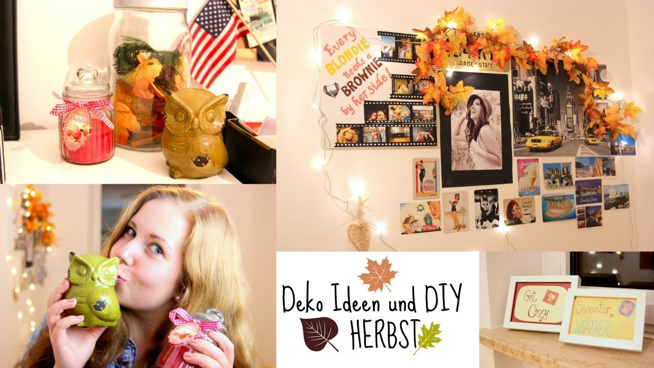 Deko DIY und Ideen HERBST, My Crafts and DIY Projects