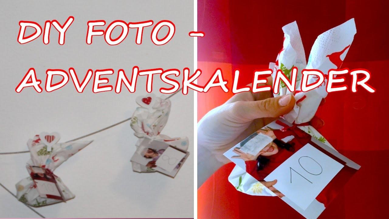 DIY gefüllter FOTO-ADVENTSKALENDER basteln -einfach, günstig, sehr persönlich.TäglichMama