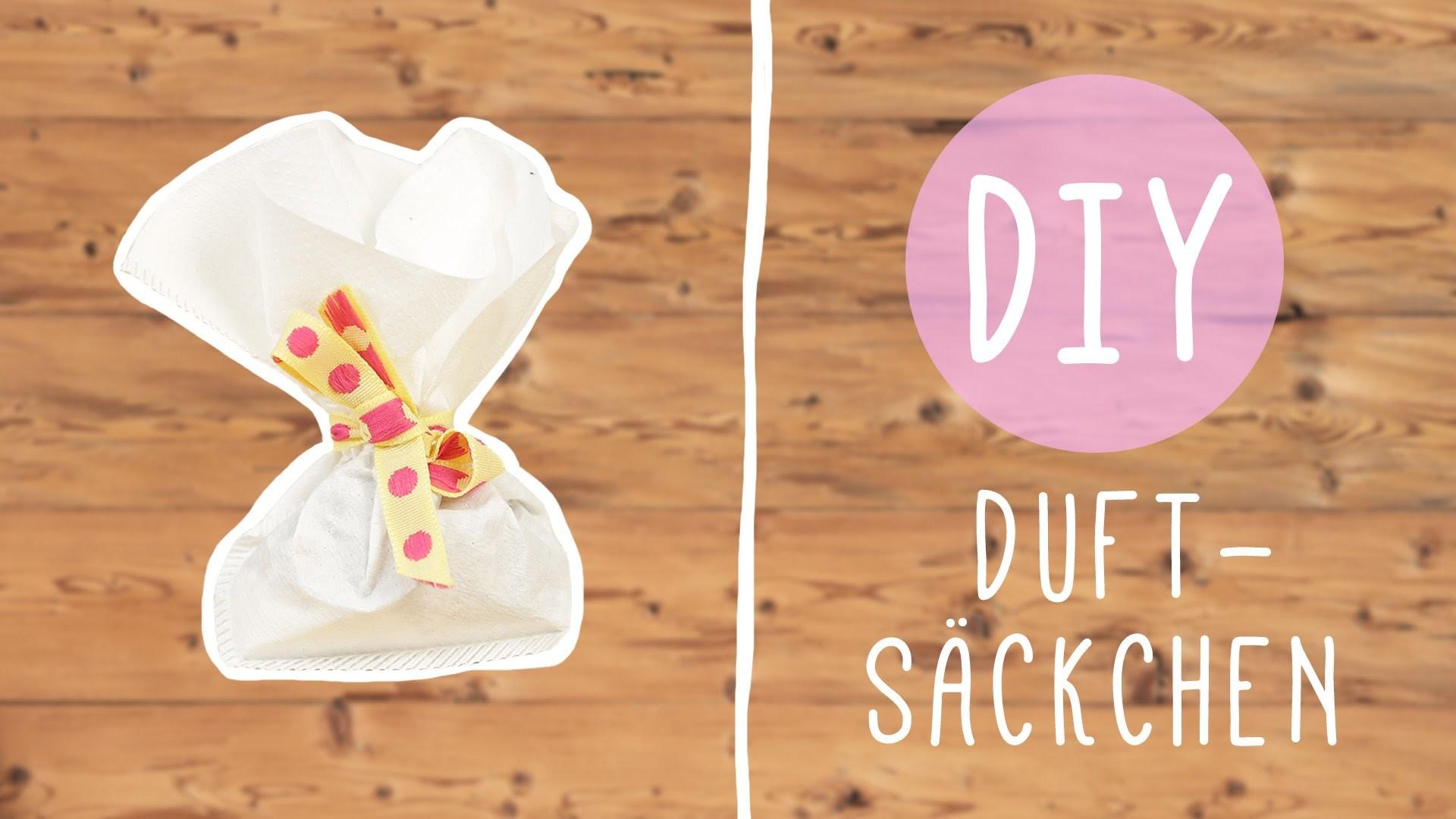 DIY mit Nina: süße Duftsäckchen