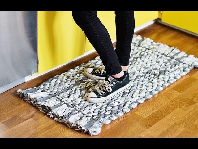 DIY Teppich. Teppich selber machen.