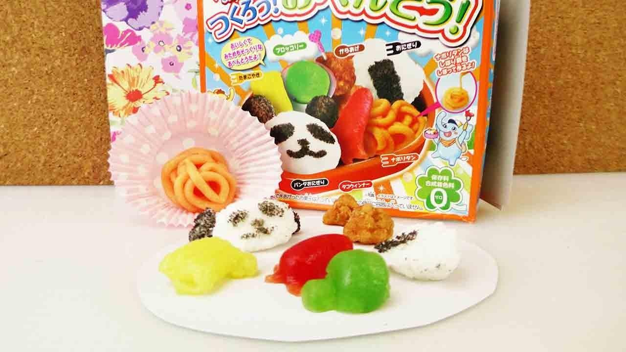 Popin' Cookin' DIY Süßigkeiten Set Bento Box von Kracie - Japanische Süßigkeiten herstellen