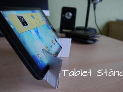 Universal TABLET STÄNDER in 5 Minuten | DIY und mega einfach