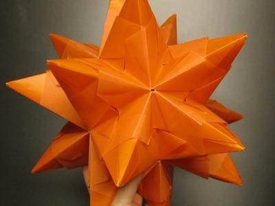 Bascetta Stern falten - Tutorial DIY - Modulares Origami