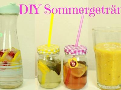 DIY Sommergetränke | gesund und einfach