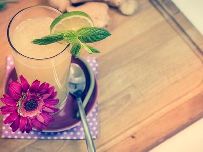 So einfach geht´s: DIY Ginger Ale mixen!