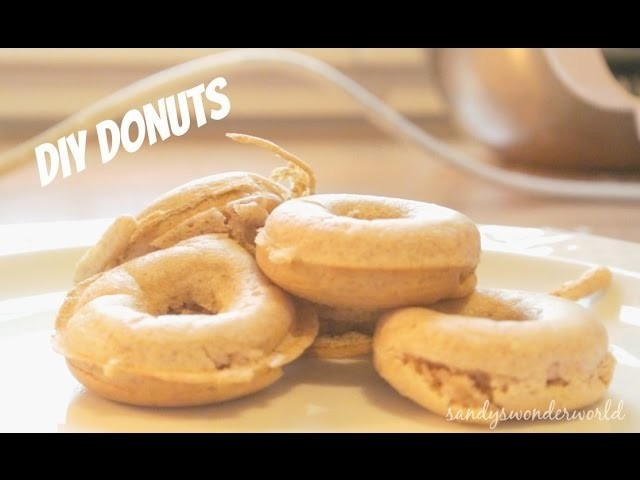 DIY Donuts   sandyswonderworld