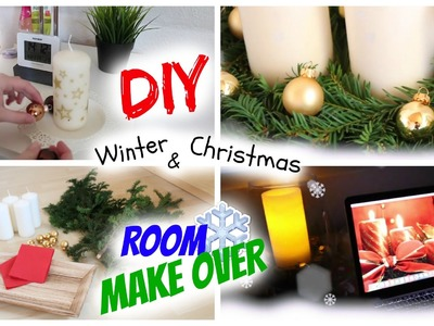 DIY WEIHNACHTSDEKO | WINTER & HOLIDAY ROOM MAKE OVER ♥︎ ROOM TOUR